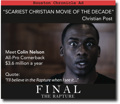 Final: The Rapture - Official Movie Site